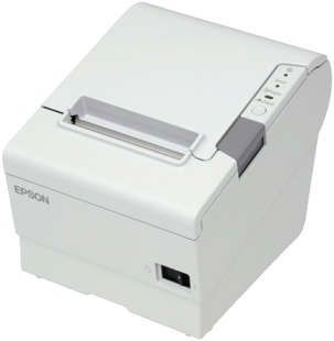 Epson TM-T88V, USB, Drawer Kick-Out, Buzzer, White 1