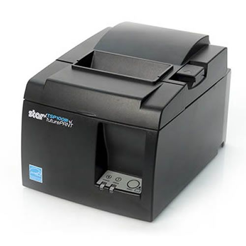 Star TSP143IIIBI Receipt Printer, BT, Grey 2