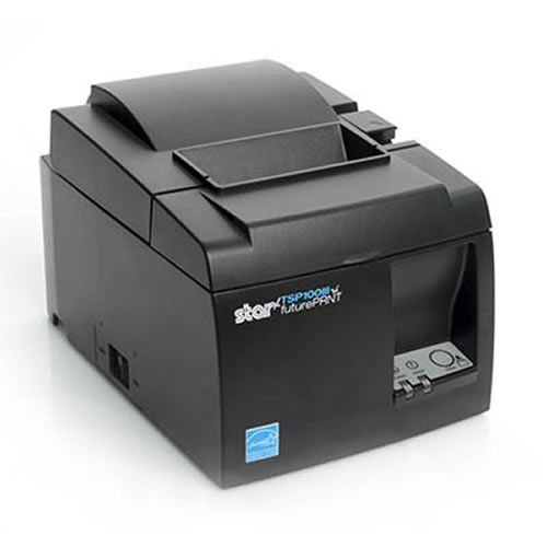 Star TSP143IIIBI Receipt Printer, BT, Grey 3