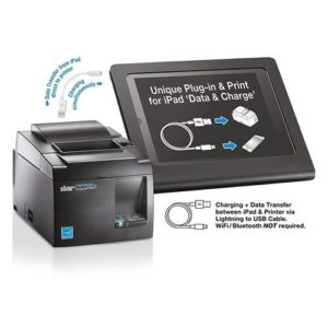 Star TSP143IIIW Receipt Printer, WiFi, Grey 5