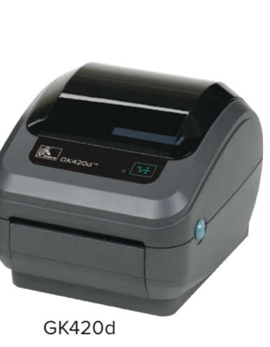"Zebra GK420 DT 4"" Label Printer 1"